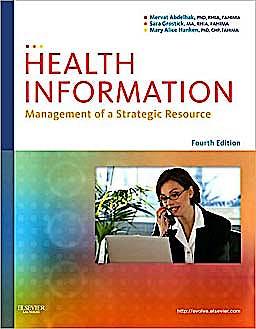 Portada del libro 9781437708875 Health Information. Management of a Strategic Resource