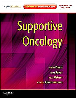 Portada del libro 9781437710151 Supportive Oncology. (Expert Consult - Online and Print)