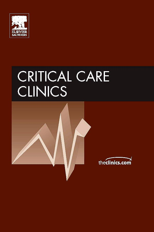 Portada del libro 9781437712049 Sepsis. an Issue of Critical Care Clinics Volume 25-4
