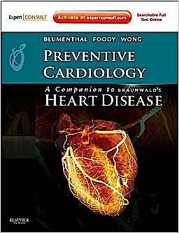 Portada del libro 9781437713664 Preventive Cardiology. A Companion to Braunwald's Heart Disease (Online and Print)
