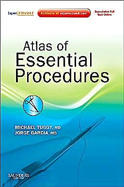 Portada del libro 9781437714999 Atlas of Essential Procedures (Online and Print)