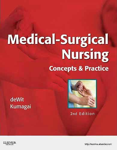 Portada del libro 9781437717075 Medical-Surgical Nursing. Concepts and Practice
