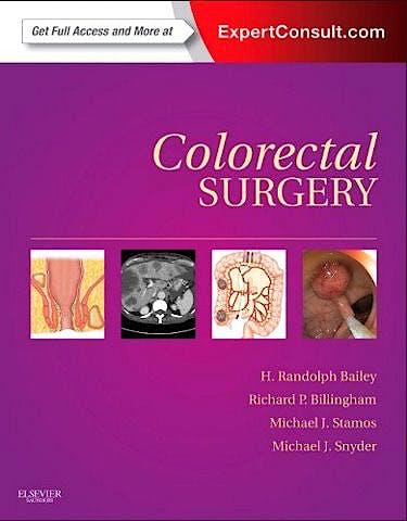 Portada del libro 9781437717242 Colorectal Surgery, Expert Consult - Online and Print