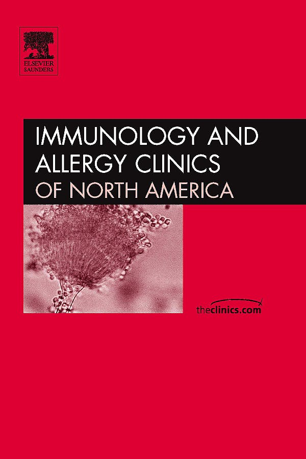 Portada del libro 9781437718287 Hemopoetic Stem Cell Transplantation for Immunodeficiency, Part 1, an Issue of Immunology and Allergy Clinics Volume 30-1