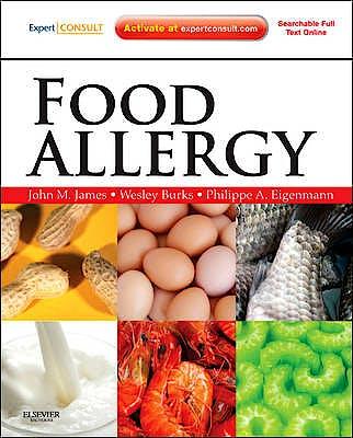 Portada del libro 9781437719925 Food Allergy (Online and Print)