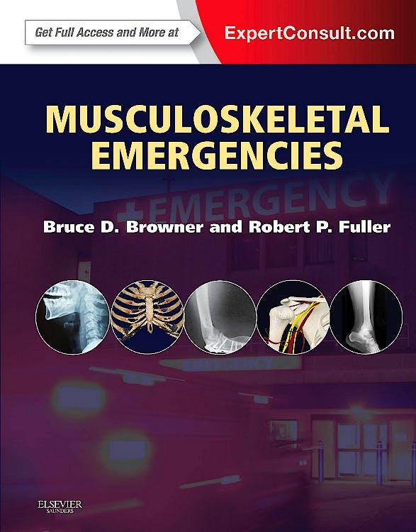 Portada del libro 9781437722291 Musculoskeletal Emergencies (Online and Print)