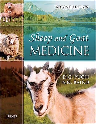Portada del libro 9781437723533 Sheep and Goat Medicine
