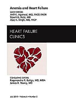 Portada del libro 9781437724561 Anemia and Heart Failure, an Issue of Heart Failure Clinics, Vol. 6-3
