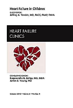 Portada del libro 9781437724578 Heart Failure in Children, an Issue of Heart Failure Clinics, Vol. 6-4