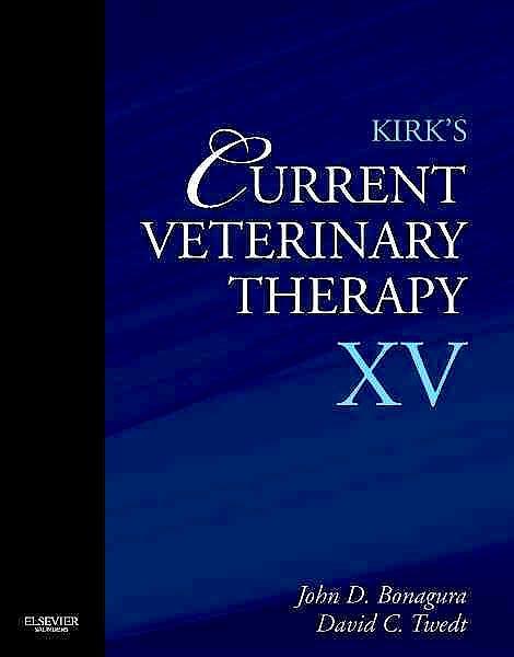 Portada del libro 9781437726893 Kirk's Current Veterinary Therapy XV