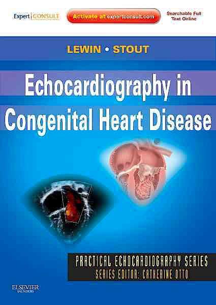 Portada del libro 9781437726961 Echocardiography in Congenital Heart Disease (Online and Print)