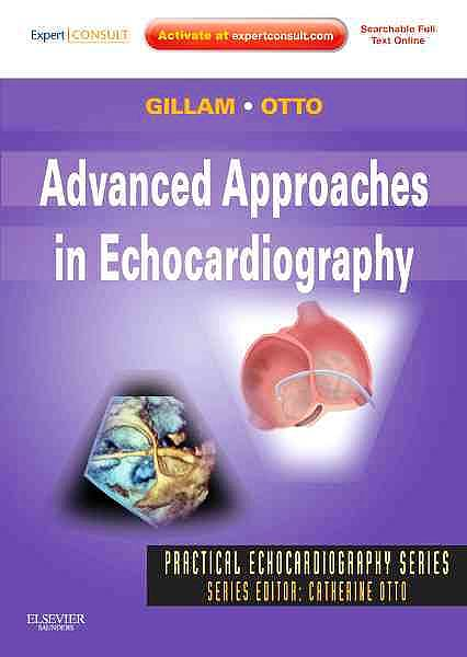 Portada del libro 9781437726978 Advanced Approaches in Echocardiography (Online and Print)