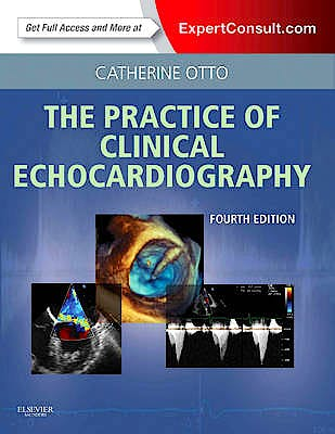 Portada del libro 9781437727654 The Practice of Clinical Echocardiography Premium Edition (Online and Print)
