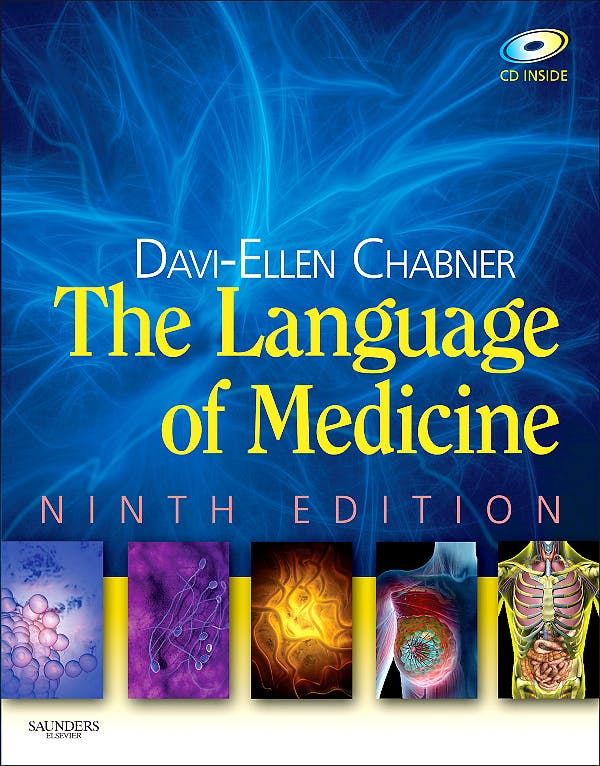 Portada del libro 9781437779738 The Language of Medicine. Text and Mosby's Dictionary 8ªed Package