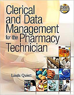 Portada del libro 9781439057810 Clerical and Data Management for the Pharmacy Technician