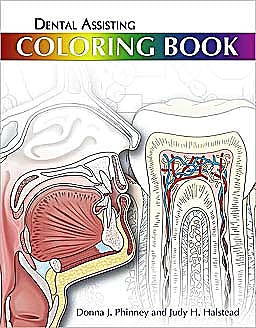 Portada del libro 9781439059319 Dental Assisting Coloring Book