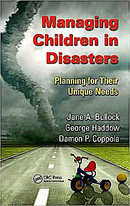 Portada del libro 9781439837665 Managing Children in Disasters: Planning for Their Unique Needs