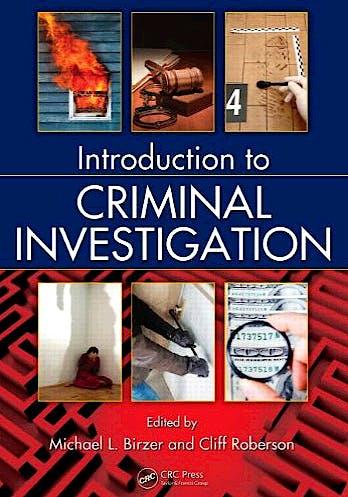 Portada del libro 9781439839348 Introduction to Criminal Investigation