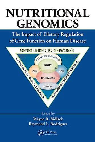 Portada del libro 9781439844526 Nutritional Genomics. the Impact of Dietary Regulation of Gene Function on Human Disease