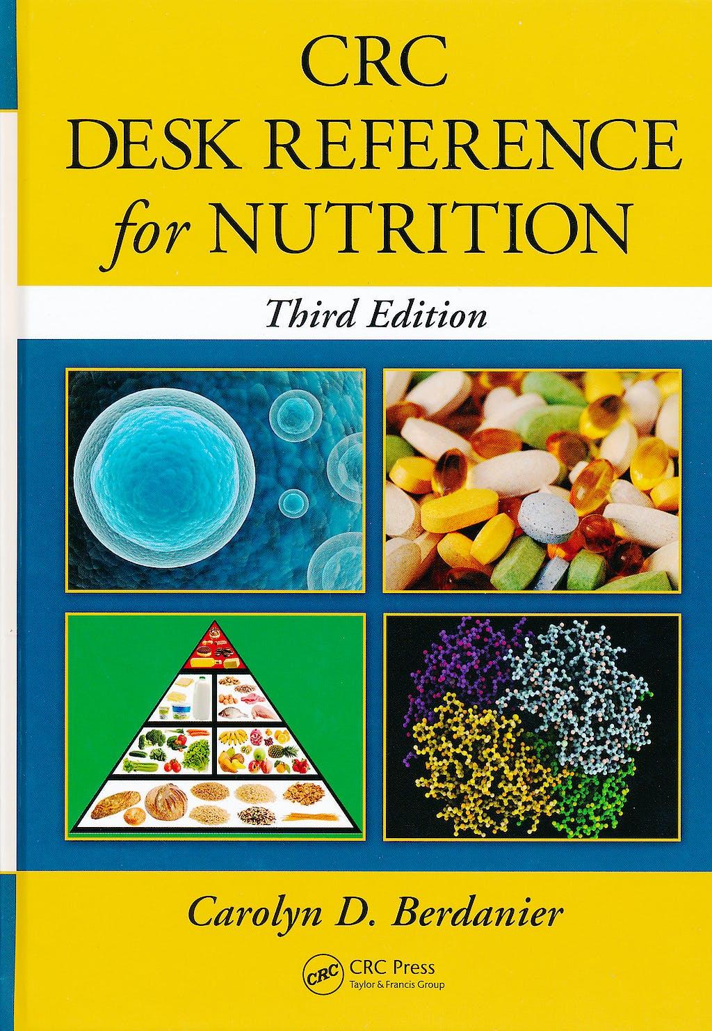 Portada del libro 9781439848449 Crc Desk Reference for Nutrition