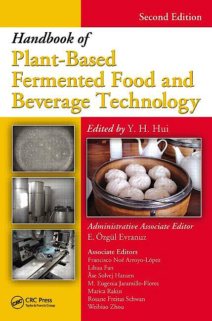 Portada del libro 9781439849040 Handbook of Plant-Based Fermented Food and Beverage Technology