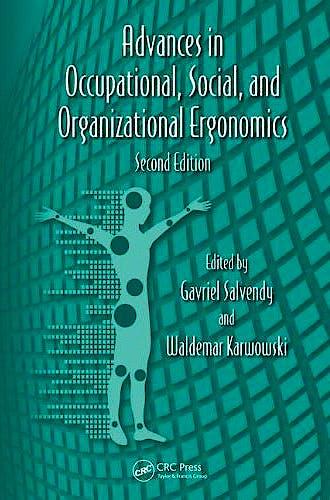 Portada del libro 9781439870198 Advances in Social and Organizational Factors