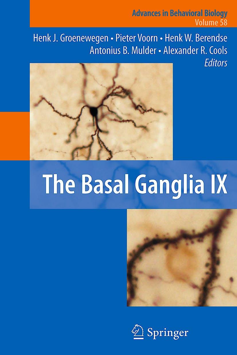 Portada del libro 9781441903396 The Basal Ganglia IX