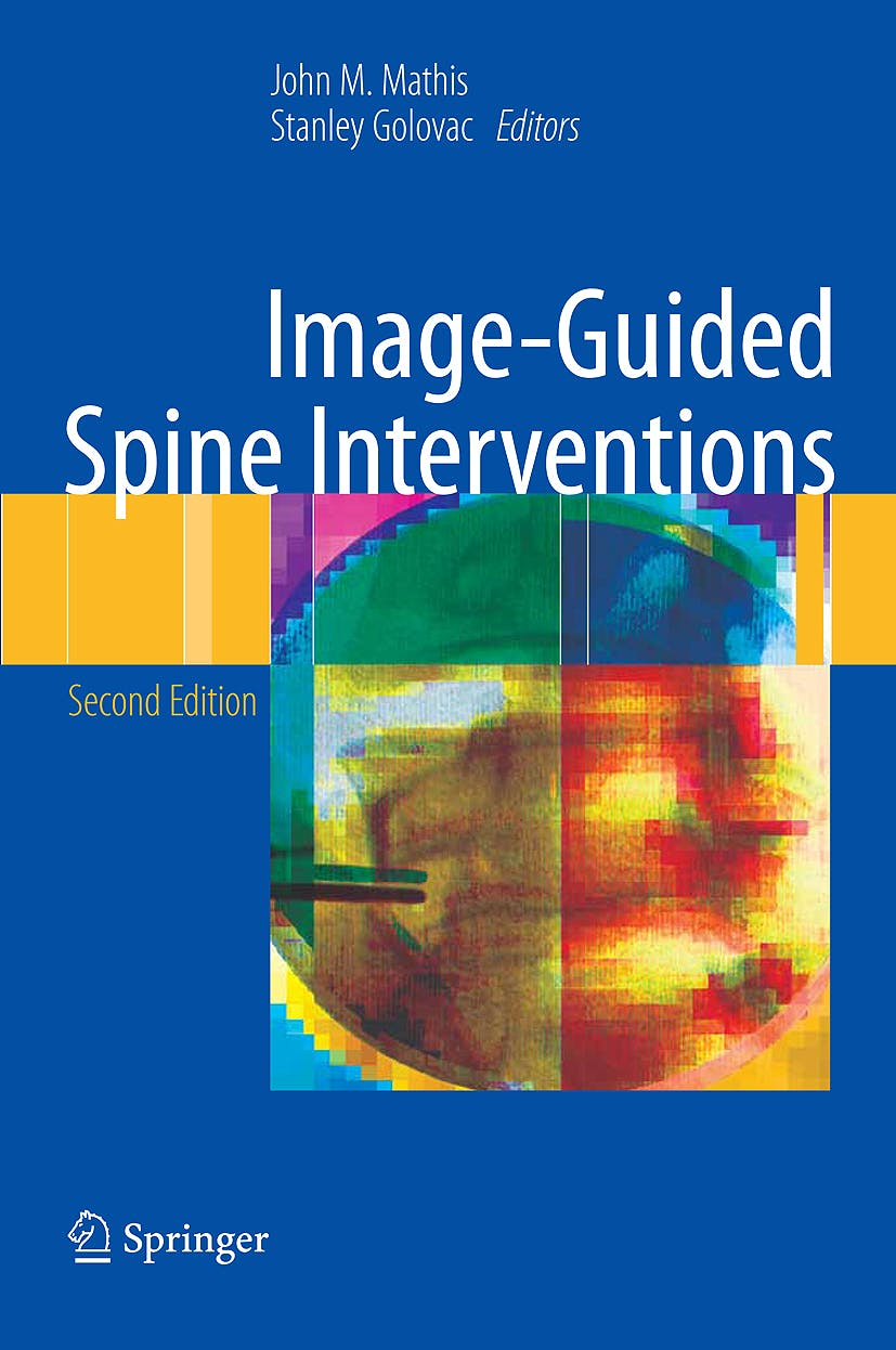 Portada del libro 9781441903518 Image-Guided Spine Interventions (Hardcover)