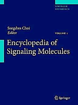 Portada del libro 9781441904607 Encyclopedia of Signaling Molecules, 2 Vols.