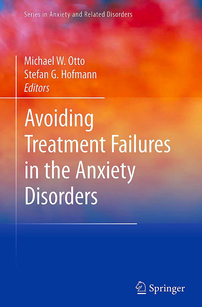 Portada del libro 9781441906113 Avoiding Treatment Failures in the Anxiety Disorders