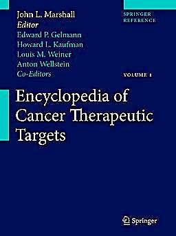 Portada del libro 9781441907165 Encyclopedia of Cancer Therapeutic Targets, 2 Vols.