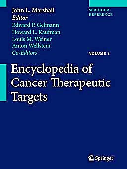 Portada del libro 9781441907189 Encyclopedia of Cancer Therapeutic Targets, 2 Vols. + Online Access
