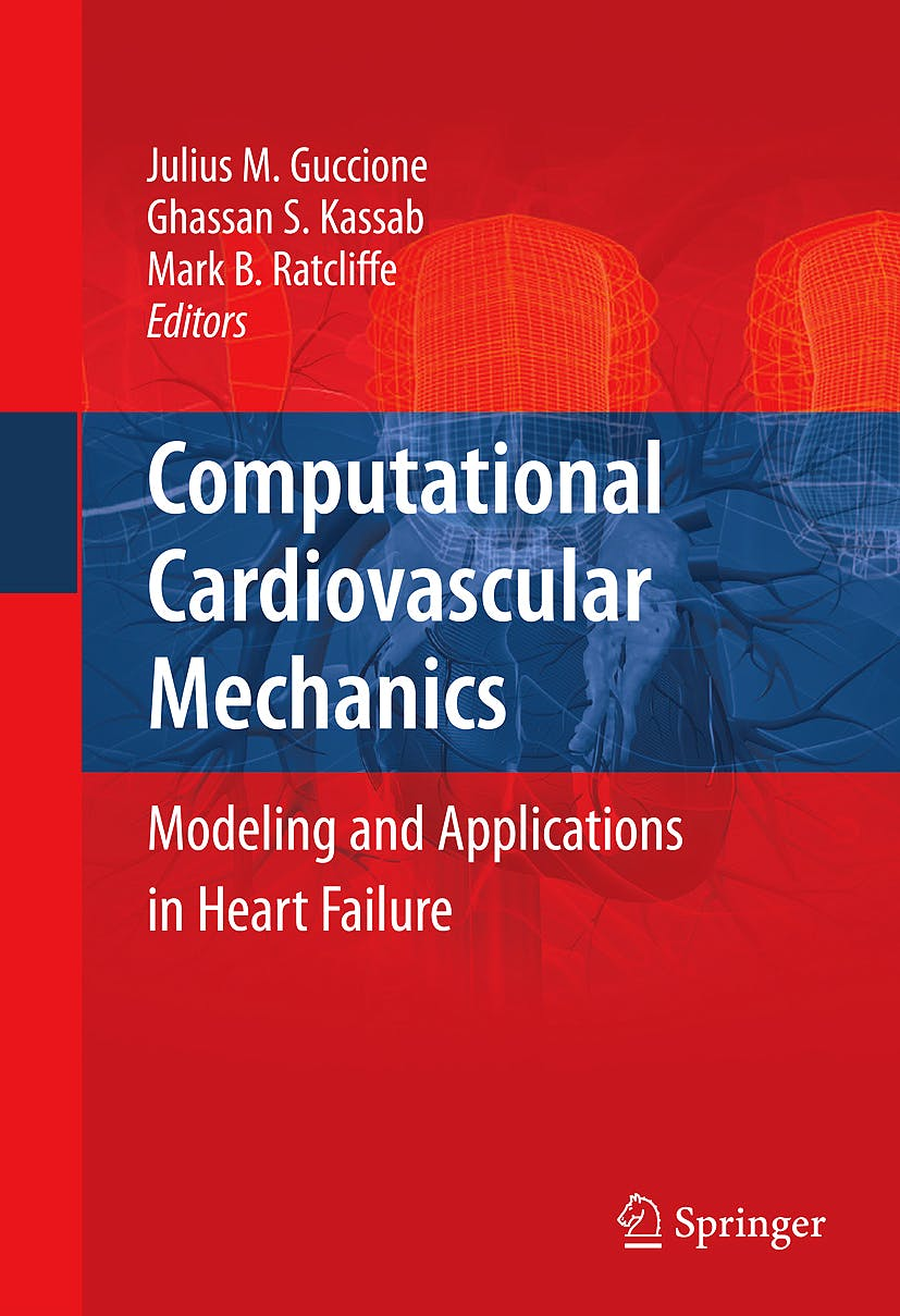 Portada del libro 9781441907295 Computational Cardiovascular Mechanics. Modeling and Applications in Heart Failure