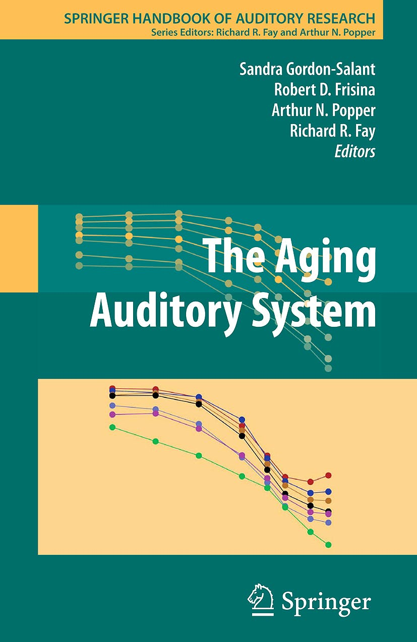 Portada del libro 9781441909923 The Aging Auditory System