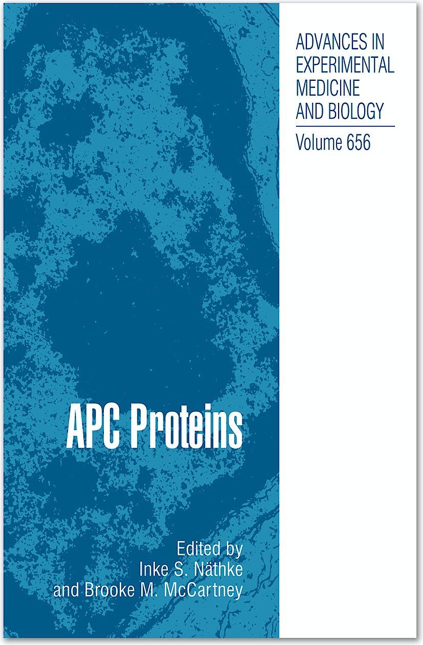 Portada del libro 9781441911445 Apc Proteins (Series: Advances in Experimental Medicine and Biology, Vol. 656)