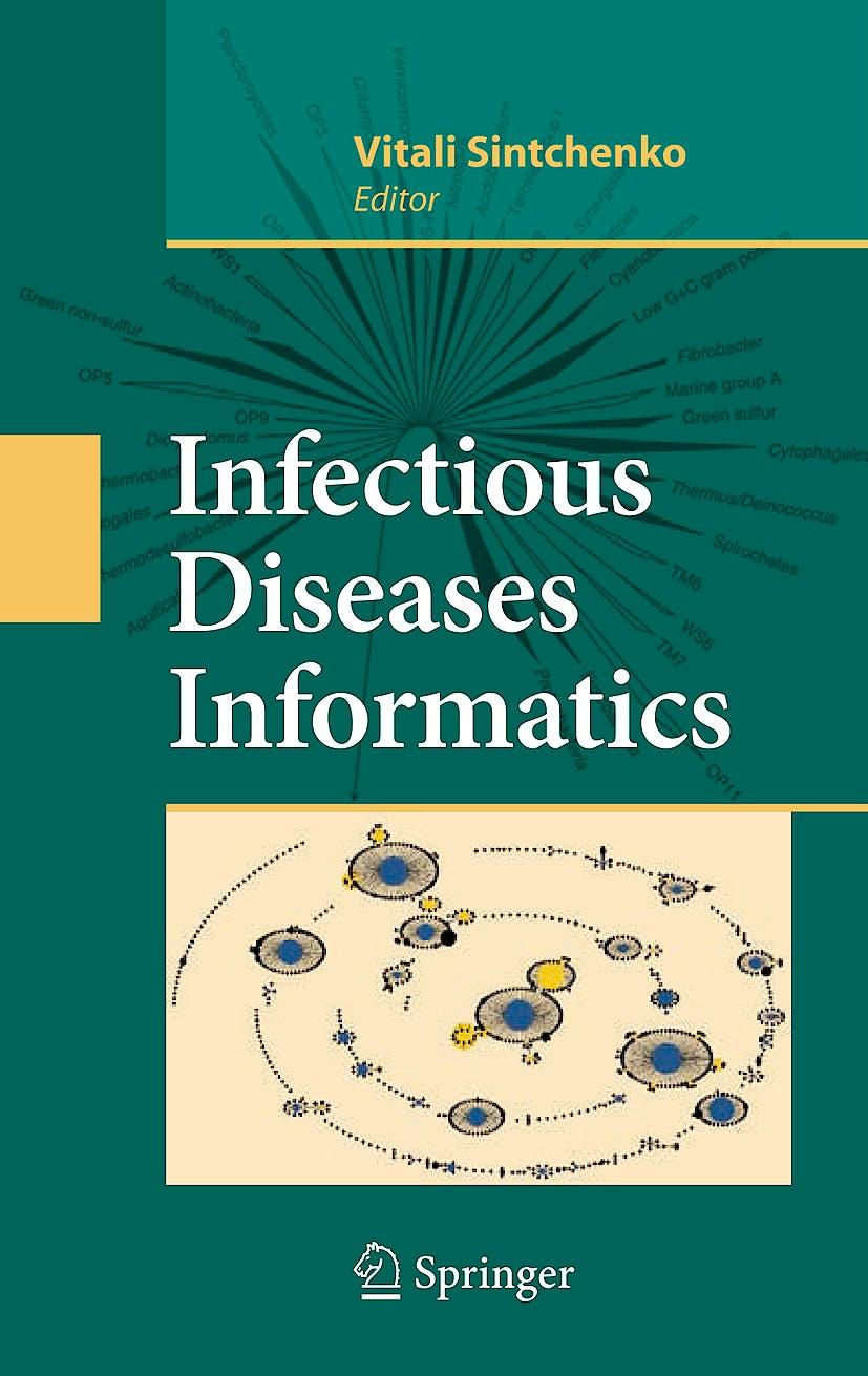 Portada del libro 9781441913265 Infectious Disease Informatics