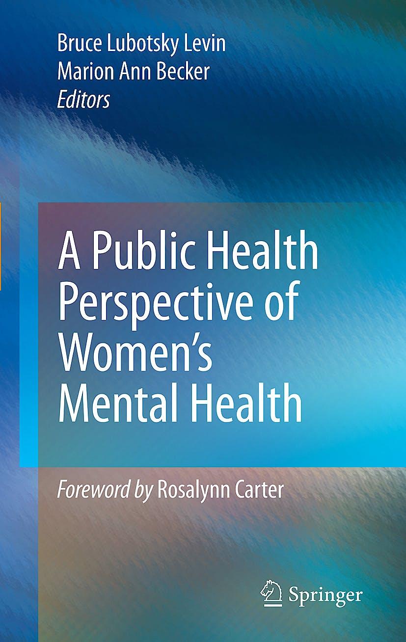 Portada del libro 9781441915252 A Public Health Perspective of Women's Mental Health