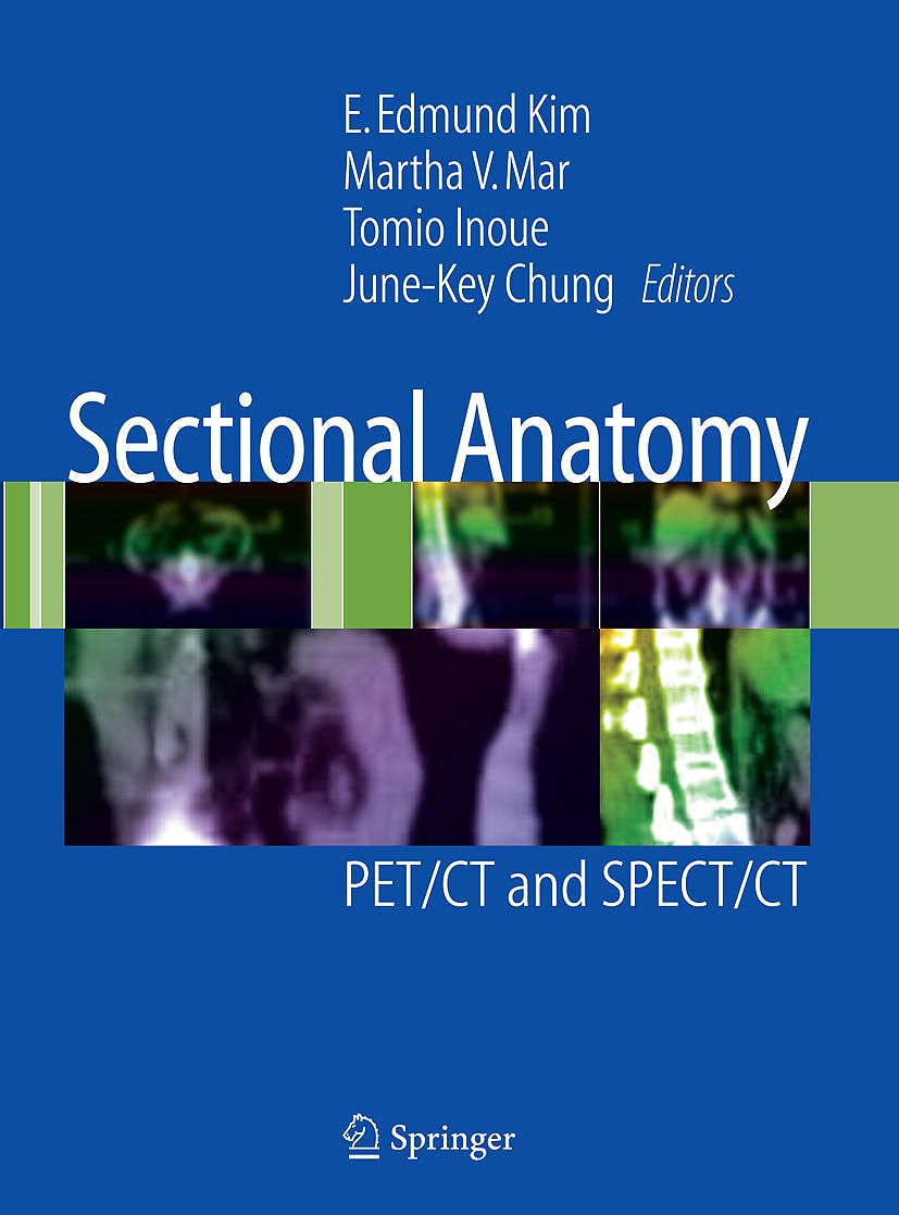 Portada del libro 9781441915894 Sectional Anatomy. Pet/ct and Spect/ct