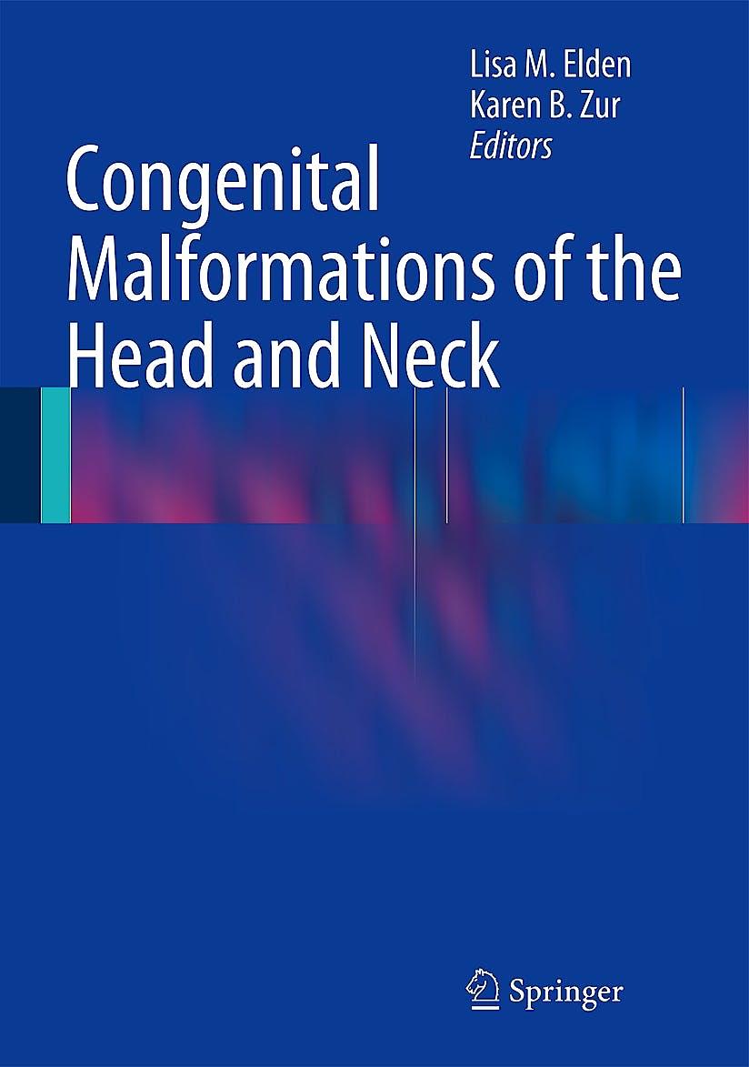 Portada del libro 9781441917133 Congenital Malformations of the Head and Neck