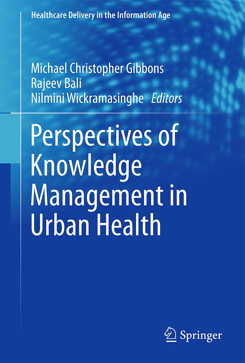 Portada del libro 9781441956439 Perspectives of Knowledge Management in Urban Health (Healthcare Delivery in the Information Age)