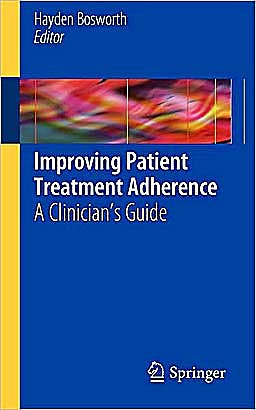 Portada del libro 9781441958655 Improving Patient Treatment Adherence. A Clinician's Guide