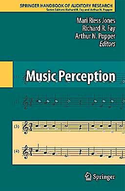 Portada del libro 9781441961136 Music Perception (Springer Handbook of Auditory Research)