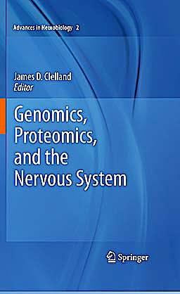 Portada del libro 9781441971968 Genomics, Proteomics, and the Nervous System (Advances in Neurobiology, Vol. 2)