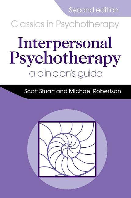 Portada del libro 9781444137545 Interpersonal Psychotherapy. A Clinician's Guide