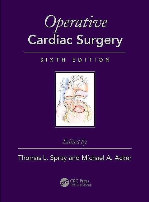 Portada del libro 9781444137583 Operative Cardiac Surgery (Book + Ebook)
