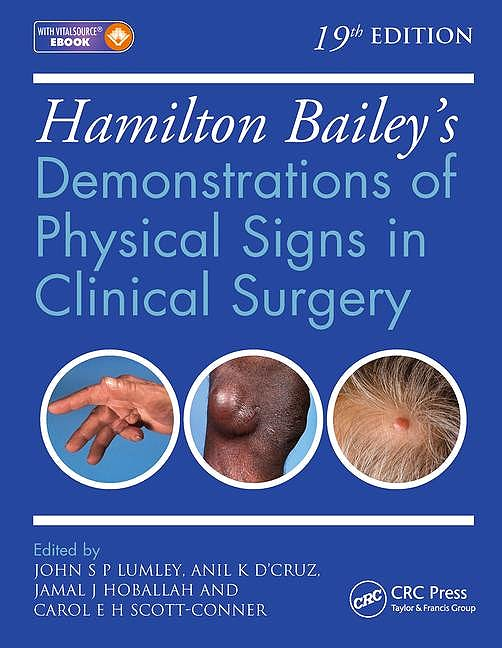 Portada del libro 9781444169188 Hamilton Bailey's Demonstrations of Physical Signs in Clinical Surgery