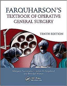 Portada del libro 9781444175929 Farquharson's Textbook of Operative General Surgery