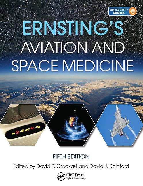 Portada del libro 9781444179941 Ernsting's Aviation and Space Medicine (Book + Ebook)