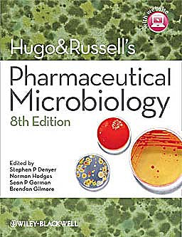 Portada del libro 9781444330632 Hugo and Russell's Pharmaceutical Microbiology + Website