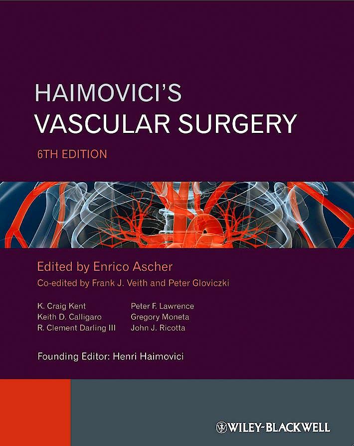 Portada del libro 9781444330717 Haimovici's Vascular Surgery